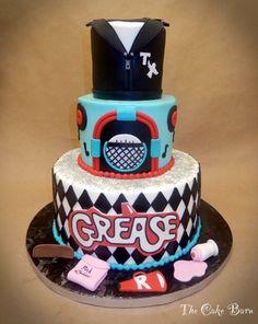 #Grease cake #thecakebarn #greaseistheword