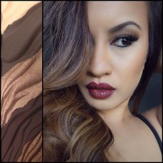 """Makeup of the Day: Hourglass """"Obscura"""" Modernist Palette by Kalakaua. Browse our real-girl gallery #TheBeautyBoard on Sephora.com and upload your own look for the chance to be featured here! #Sephora #MOTD"""