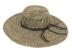 Awol Seagrass Natural Sun Hat by DA. Shop authentic and stylish hats at Chapel Hats now. We are the premier hat shopping experience with every style of hat. We guarantee easy returns and free shipping of orders over $50 everyday!