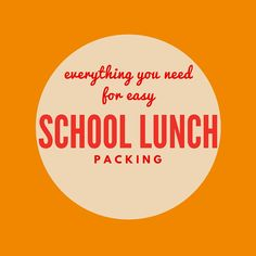 No Sandwich Lunches! — What Lisa Cooks