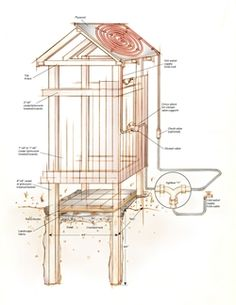How to Build & Enjoy An Outdoor Solar Shower - Cabin Life Magazine o out door shower Outdoor Baths, Outdoor Bathrooms, Outdoor Kitchens, Outdoor Projects, Home Projects, Outside Showers, Outdoor Showers, Outdoor Spaces, Outdoor Living