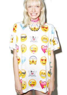 PinkyP's Guide to KAWAII : Emoji Clothing is kickin' it - feed your need here
