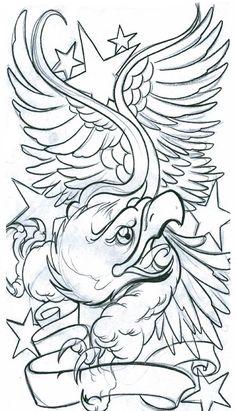 Spirtutal Tattoo Flash Art | , art, flash, pictures, images, gallery, symbols, large eagle tattoo ...