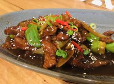 This is the best mongolian beef recipe for being simple, delicioius and with that authentic flavor. You are guaranteed to love the results. Healthy Eating Tips, Healthy Recipes, Healthy Nutrition, Drink Recipes, Dinner Recipes, Mongolian Beef Recipes, Beef Casserole Recipes, Fried Beef, Savoury Dishes