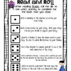 """Looking for a quick, no fuss way to have students respond to the books they are reading independently?  All you need is this fun """"Read and Roll"""" di..."""