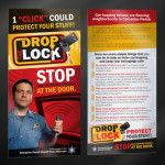 """""""Drop the Lock"""" Calcasieu Parish Sheriff's Office Campaign - Parker Brand Creative Services — Advertising • Marketing Strategy • Traditional Media • Social Media • Custom Illustration • Graphic Design — Serving Lake Charles and Sulphur, Louisiana since 2010"""
