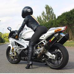 #girl #motorcycle #bike