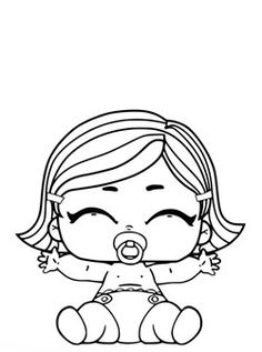 Free and printable coloring pages for kids available on this page! This time we have LOL coloring pages for you all! LOL Surprise Dolls are popular toys for girls. Free Kids Coloring Pages, Paw Patrol Coloring Pages, Barbie Coloring Pages, Coloring Book Pages, Coloring Pages For Kids, Kids Colouring, Fairy Coloring, Surprise Pictures, Easy Crafts For Teens