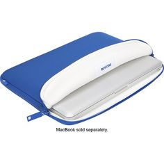 """Incase - Classic Sleeve for 13"""" Apple® MacBook® Pro - Blueberry - Alternate View 5"""