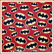 Marvel Amazing Batman Bat Symbol Brick Wall Fabric Bthy By Half Yard Fq Bty Spiderman Batman Superman, Bat Symbol, Wedding Types, Fabric Scraps, Scrap Fabric, Quilting Fabric, Comic Movies, Blue Quilts, Red Bricks