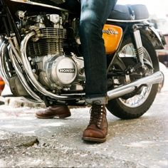 redwingshoestoreamsterdam: Honda x Iron Ranger thedenimdouche: Red Wing