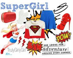 """""""The Girls of DC: SuperGirl"""" by trulygirlygirl on Polyvore"""