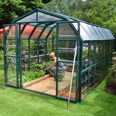 Rion Grand Gardener 8 Ft. W x 16 Ft. D Greenhouse