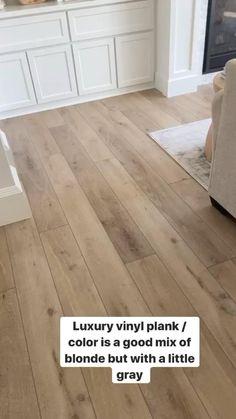 Living Room Flooring, Home Flooring, Modern Flooring, Bedroom Flooring, Wood Look Tile Floor, Wood Floor Colors, Wood Tiles, Vinyl Plank Flooring, Light Wood Flooring