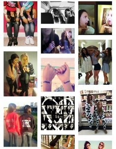 Cute bestfriend picture ideas!! I so doing most of these with my BFF! ♥✌