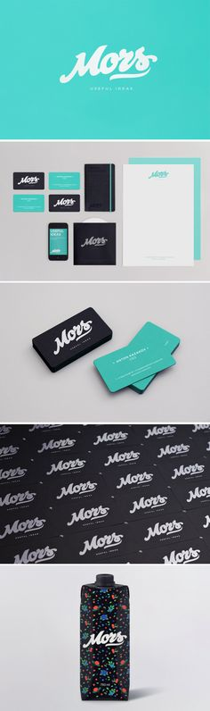 Mors  //  #BrandIdentity #GraphicDesign #PrintDesign #Inspiration Corporate Identity Design, Identity Branding, Business Branding, Graphic Design Branding, Brand Identity Design, Visual Identity, Business Card Design, Logo Design, Gw