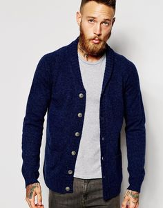 Buy ASOS Lambswool Rich Shawl Collar Cardigan at ASOS. With free delivery and return options (Ts&Cs apply), online shopping has never been so easy. Get the latest trends with ASOS now. Cardigan Long, Shawl Collar Cardigan, Longline Cardigan, Mens Roll Neck, Roll Neck Jumpers, Mens Jumpers, Long A Line, Fashion Online, Knitwear