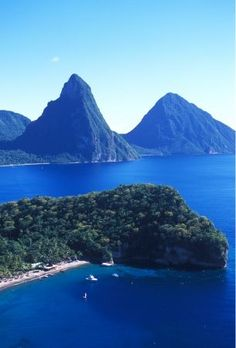 I was born and raised in St. Lucia, in     the capital city of Casries. Visit the Sulphur Springs, the world's only     walk-in volcano!