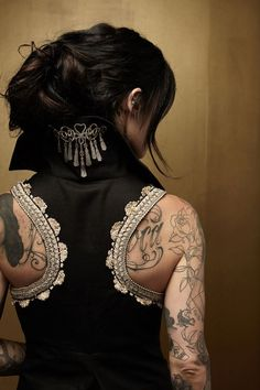 I WANT this vest and someday I will HAVE it!!! :-)    This is the Starboard vest from Kat Von D Los Angeles :-)