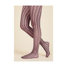 Statement Motif Maven Tights (200 ARS) ❤ liked on Polyvore featuring intimates, hosiery, tights, foundation, full-length tight, purple, tight, sheer tights, pantyhose tights and patterned tights