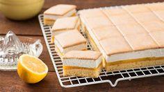 Butterkekskuchen | In allen 4 Ecken soll Liebe drin stecken - das stimmt für diesen Butterkekskuchen auf jeden Fall. Ein feines Rezept für einen tollen Blechkuchen.