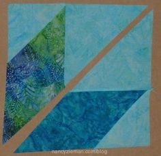 Lone star quilt templates by Nancy Zieman. How-to-sew easy lone star quilts.