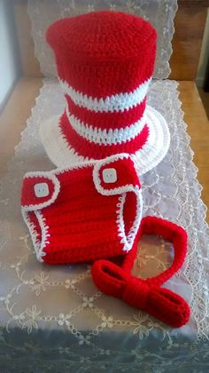 Crochet+Cat+in+the+Hat+Dr+Suess+Top+Hat+by+SelfMadeCreations