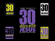 THIRTY DAYS WITH JESUS IN JUNE by CLiske