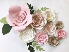 Bilderesultat for paper flowers decoration