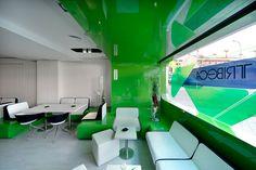 Tribeca Heineken restaurant & bar by Lab matic, Madrid restaurant bar