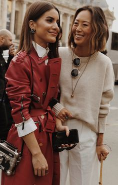 Camilla Coelho and Aimee Song Look Fashion, Winter Fashion, Fashion Outfits, Fashion Trends, Warm Outfits, Fall Winter Outfits, Style Snaps, Casual Chic, Aimee Song