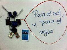 """@PaikBot de gritoncito de la lotería: ¡El paraguas! """"Para el sol y para el agua."""" by @Hermanita_"""