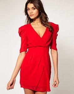 """""""when in doubt, wear red."""" - Bill Blass"""