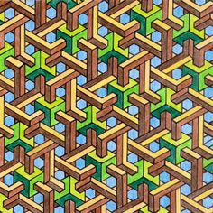 Impossible Geometry Illusion
