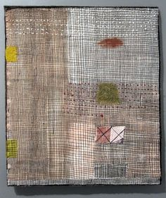 Dorothy Caldwell Canyon 2012  stitched cotton earth ochre 13 x 17 inches Dear Dorothy I just finished reading the article in the ...