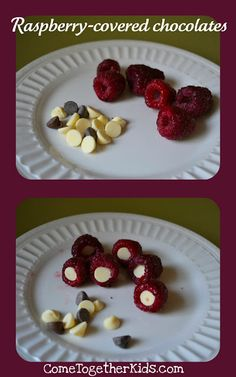 Raspberry covered chocolate! Who knew a simple little treat could make a momma so happy! :)
