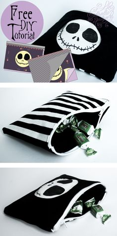 Tim Burton Week: Skull Bag