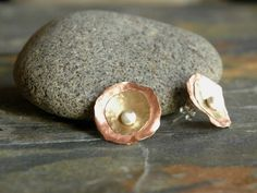 Jewelry inspiration...dapping metal to make concave/convex shapes