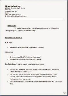 Dob on resume