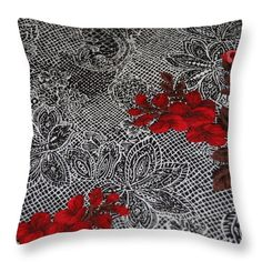5016 Throw Pillow featuring the digital art 5016 by Aileen Griffin