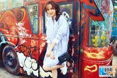 Hu Jing poses for fashion shots | China Entertainment News