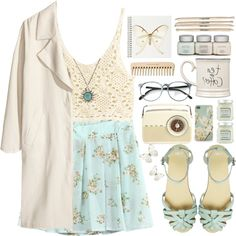 """25. Light and airy!"" by raquel-t-k-m on Polyvore"