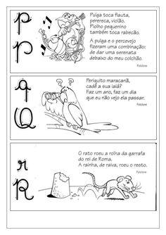Fichas de leitura de A a Z