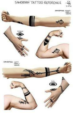 Sandman Tattoos