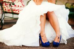 Algo azul para la boda
