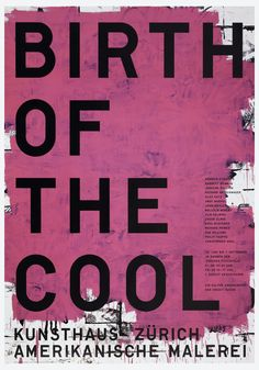 Poster, The Birth of Cool, American Painting from Georgia O'Keefe to Christopher Wood, 1997