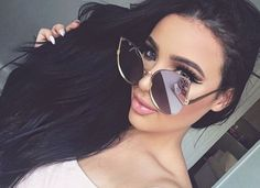 15d19a7a86f Pinterest   HannahAshley07 Girl With Sunglasses