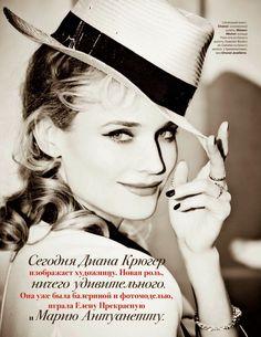 Diane Kruger by Ellen von Unwerth for Tatler Russia April 2014 6