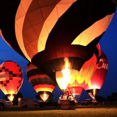 Riding the Wisconsin winds with Brookfield Balloon Rides! #HotAirBalloon