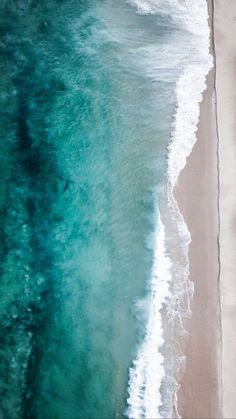 Travel near, far & often! Sea And Ocean, Ocean Beach, Ocean Waves, Aerial Photography, Nature Photography, Pretty Pictures, Cool Photos, Ocean Wallpaper, Joan Mitchell